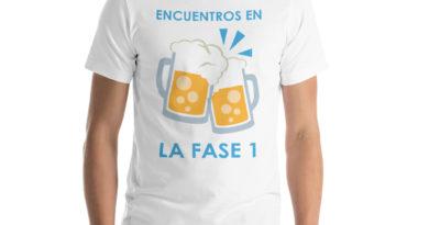 Camisetas Coronavirus Fase 1